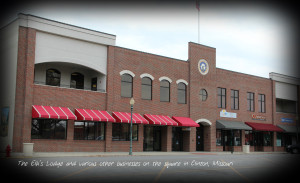 Clinton MO Elks Building, Completed 2008