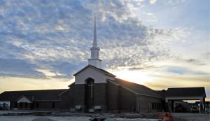 First Baptist Church, Clinton MO, Under Construction 2015